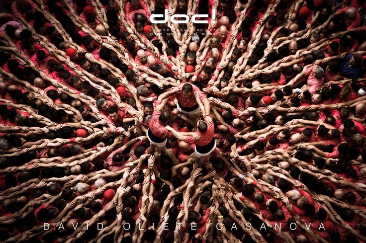 doc! photo magazine presents:  David Oliete Casanova - HUMAN TOWERS IN CATALUNYA @ doc! #27/28 (pp. 189-205)