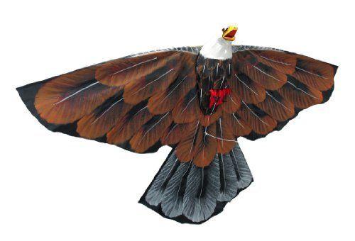 how to make a eagle kite step by step