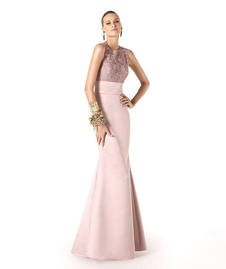 Pronovias präsentiert Ihnen das Modell Reinne aus der Kollektion Brautmutter 2014. | Pronovias