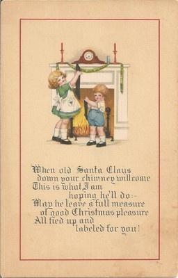 Cute Vintage Postcard
