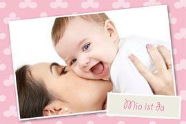 Geburtskarten Design
