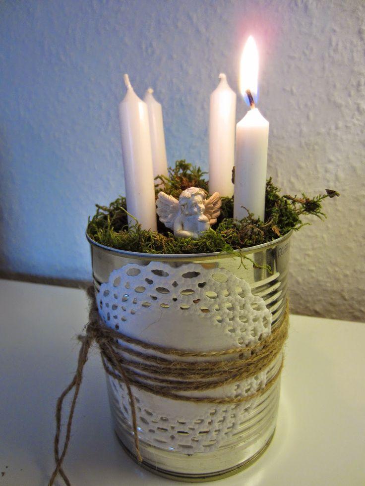 Adventskranz DIY