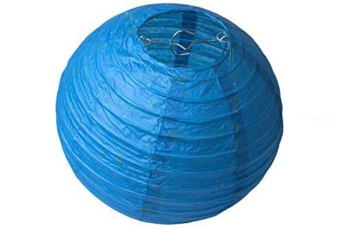 "8"" Paper Lampshade (Royal Blue)"