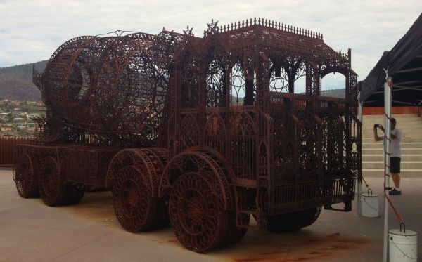 MONA: Museum of Old and New Art, #Hobart. Article and photo for Think #Tasmania