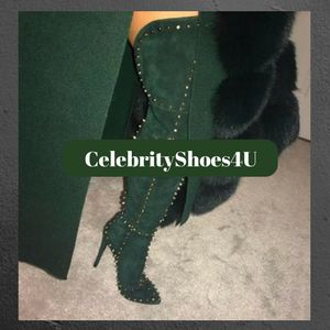 Booties Spike love these http://celebrityshoes4U.com  AND on sale