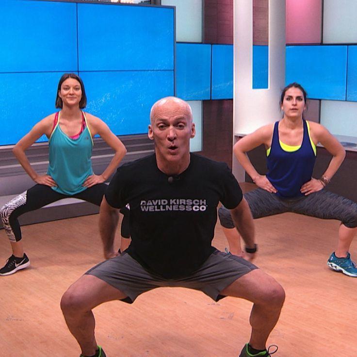 Try David Kirsch's 10-Minute Butt Blasting Workout