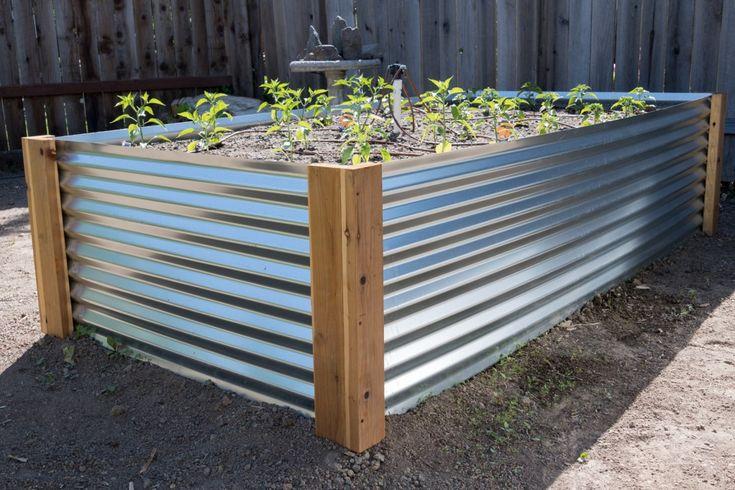 Diy Raised Garden Bed Plans Metal Garden Beds Diy 640 x 480