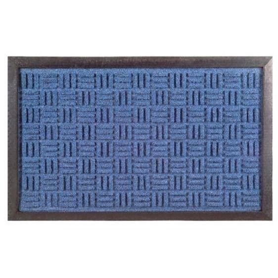 Synthetic Doormat - Blue