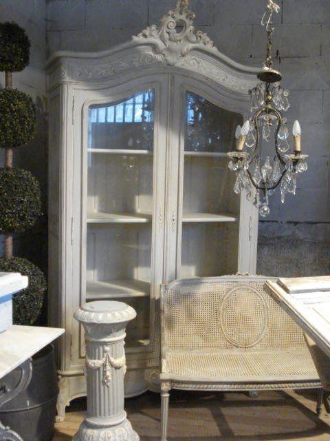 atelier de campagne   Armoire Louis XV