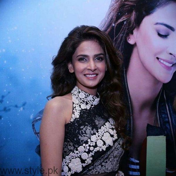 Saba Qamar At Lahore Se Aagey Premiere Karachi
