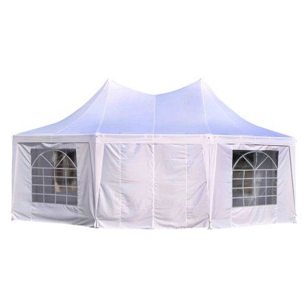 Outsunny 22 x 16 ft. Large Octagon Party Gazebo Canopy Tent Walmart $380