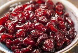 Dried Cranberries Nutrition