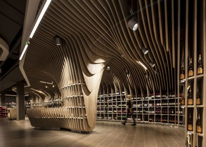 Guess the Supermarket? – Spar flagship store by LAB5 architects Budapest Hungary #Retail #Design