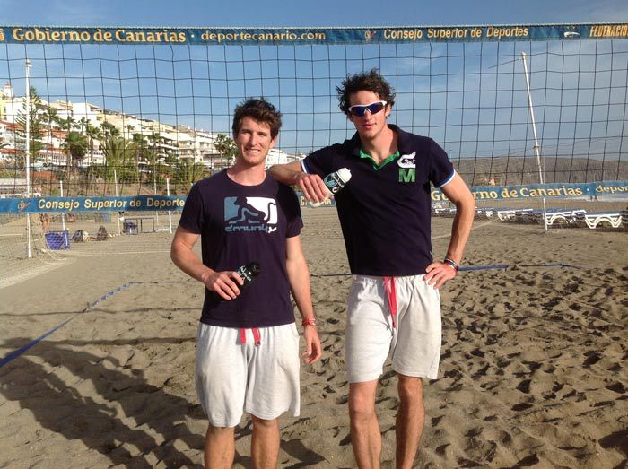 Jake Sheaf & Chris Gregory - GB Volleyball Team