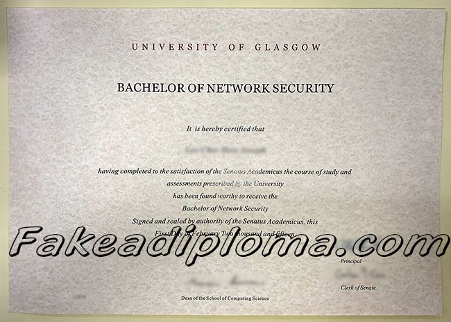 Order Fake University Of Glasgow Degree Online With Images