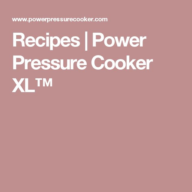 how to cook with power pressure cooker xl