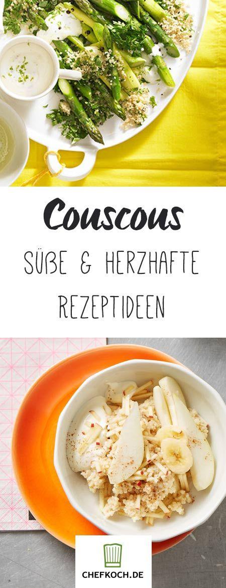 10 Minuten quellen lassen und los geht's! Wir zeigen euch, was ihr in einer guten halben Stunde aus Couscous zaubern könnt.