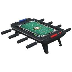 """Classic Match Foosball for iPads 3, 4 and Air: Classic Foosball has been brought into the future with New Potato's Classic Match Foosball for iPad accessory. Now you can work your pull, snake, bank and bread and butter shots, fake out your opponent and deliver the ball into the goal with a resounding """"thunk"""", all on a table top foosball dock... http://goo.gl/jZ4gvf"""