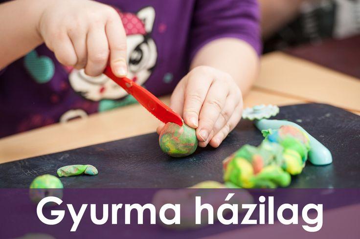 A gyurma az egyik legsokoldalúbb játékszer, annyi képességet fejleszt észrevétlenül, hogy felsorolni is nehéz.