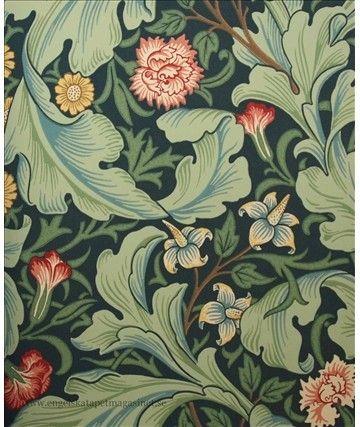William Morris. (http://www.engelskatapetmagasinet.se/sv/articles/2.49.10740/william-morris-tapet)