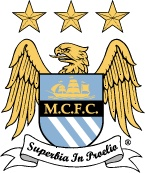 Current City crest (lazer blue shield changed to sky blue)