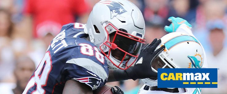 Top 5 Photos from Patriots vs. Dolphins presented by CarMax | New England…