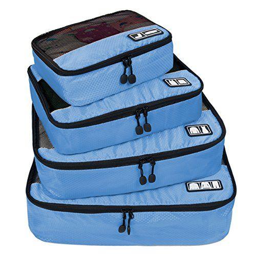 Nuova offerta in #bagaglio : BAGSMART Viaggio Imballaggio Cubi Set Confezione Cubi da Viaggio 4pz - Organizzatori Durevoli da Viaggio a soli 2159 EUR. Affrettati! hai tempo solo fino a 2016-11-05 23:29:00