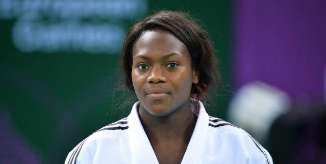 La championne du monde en titre Clarisse Agbegnenou. (L'Equipe)