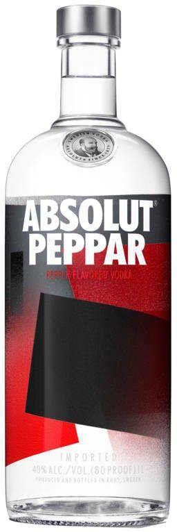 Flavored Vodka von Absolut in 1 l Flasche mit 40% Vol. Alc.