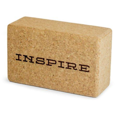 Personalized Cork Yoga Block - tap, personalize, buy right now!