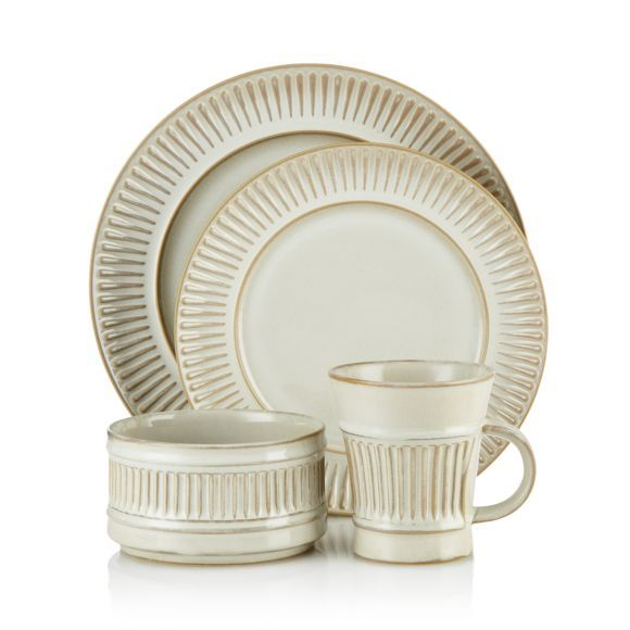 Dansk Flamestone Cream Dinnerware Collection- 100% Bloomingdale's