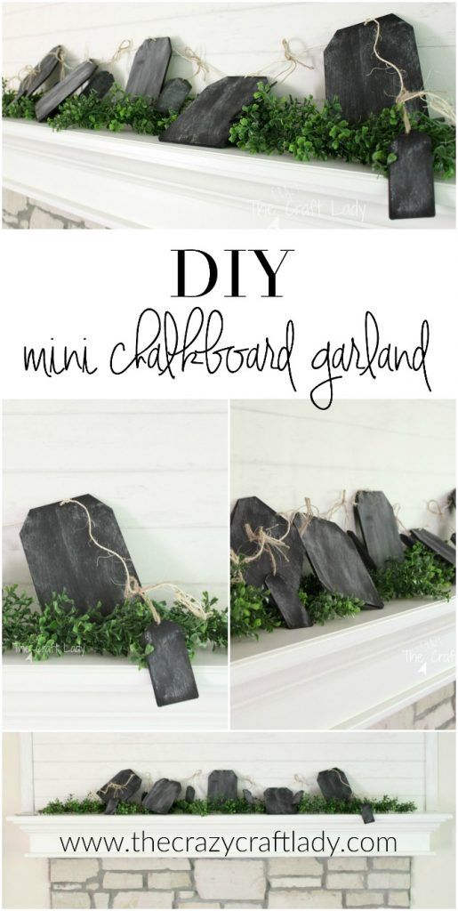 how to make a simple chalkboard