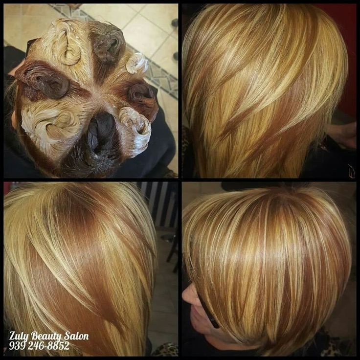 pinwheel hair color style