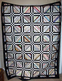 Love this selvage quilt!