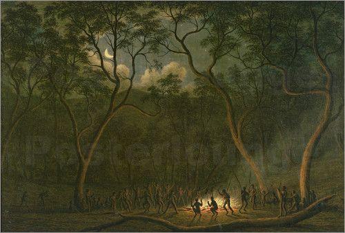 John Glover, Coroboree in Van Diemens Land