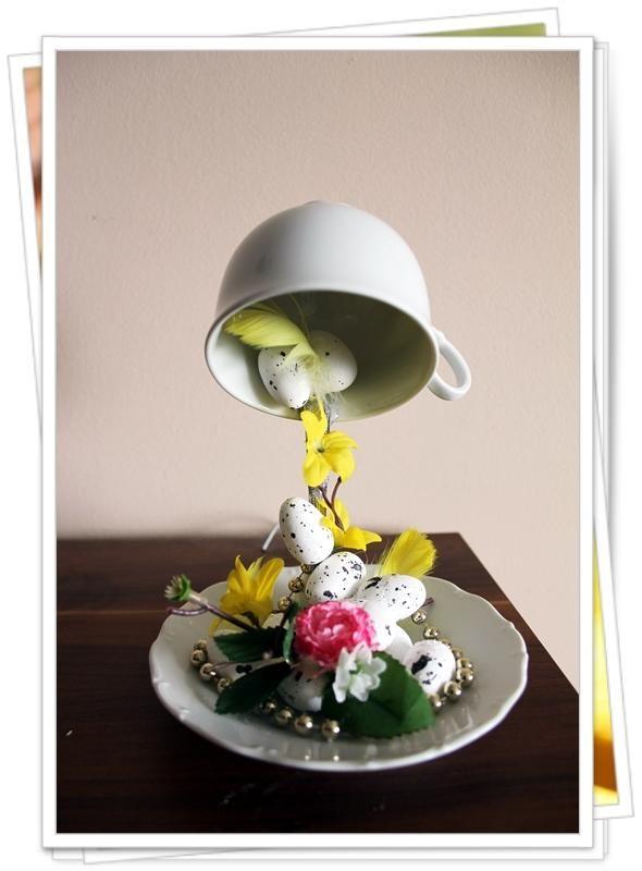 Veľkonočné aranžovanie. Autorka: ekka. Veľkonočné dekorácie, veľká noc, jar, vajíčka, kvety. Artmama.sk