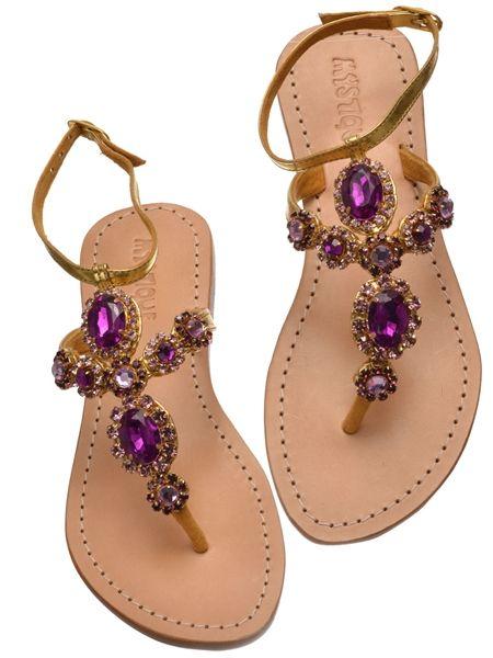 Sparkle Spotlight: Jeweled Sandals from Mystique Sandals