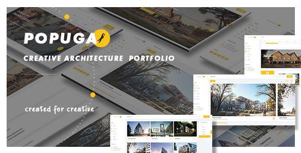 WordPress              Popuga – Creative Responsive Architecture Portfolio WordPress Theme            Download   #architecture #creative #popuga #port…