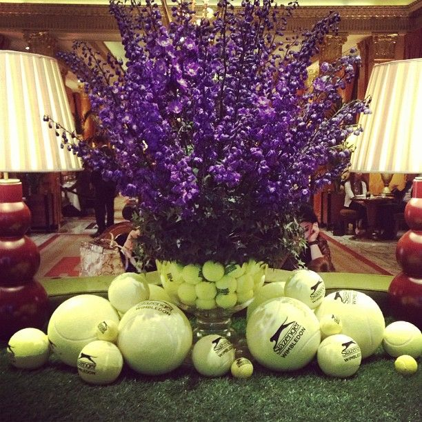 Great to be back @Matty Chuah Dorchester for a #NiemierkoAcademy meeting. Great #wimbledon display.