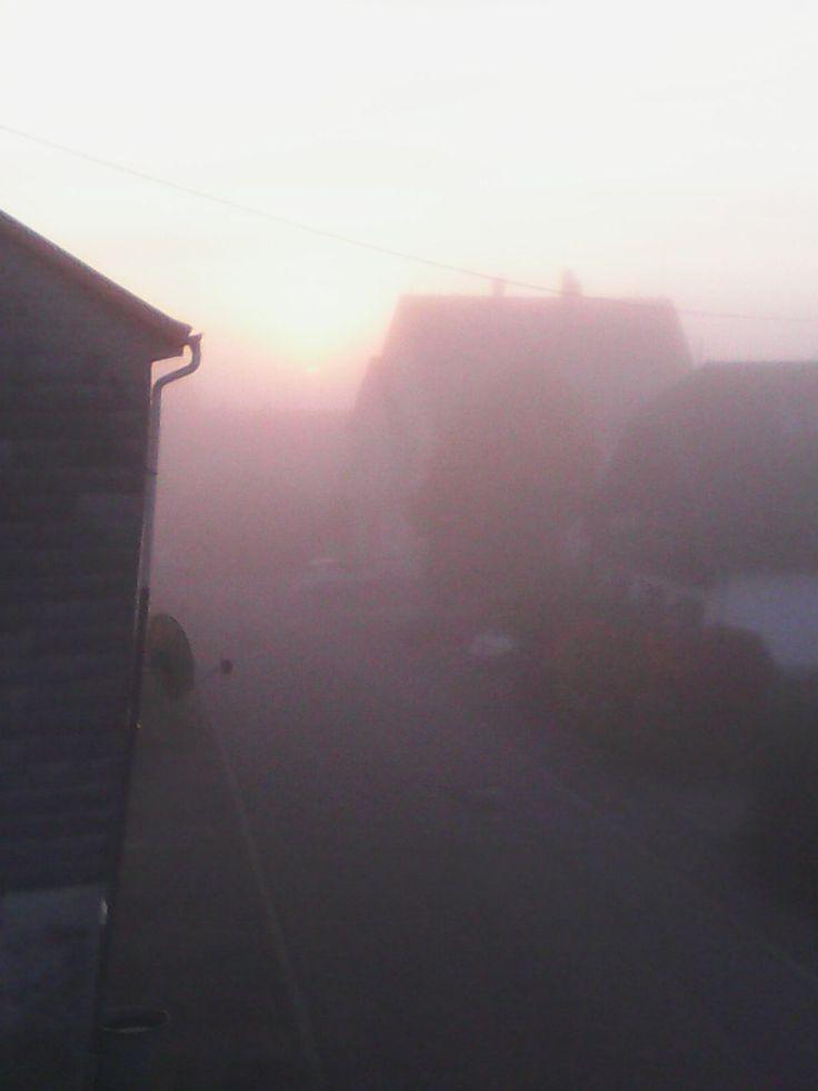 Gedicht: Ein nebliger Morgen ! (bernd tunn) | LiteratPro