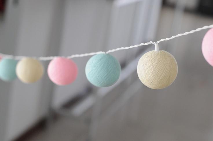 35 cotton ball light