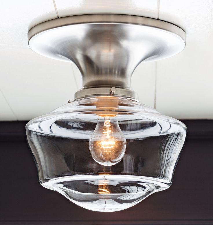 Over The Sink Light Fixtures: Rejuvenation: Ceiling Mount Light Over Sink With