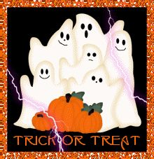 Trick or Treat halloween ghosts happy halloween trick or treat graphic halloween greeting