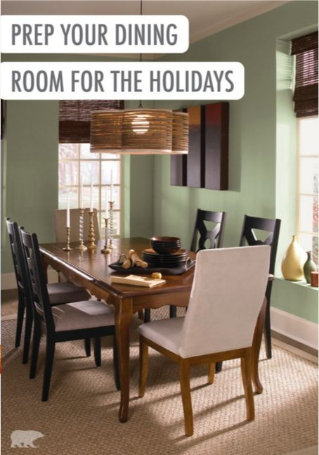 Looking To Do A Little Makeover To Your Dining Room Before You Host Your Christmas Party