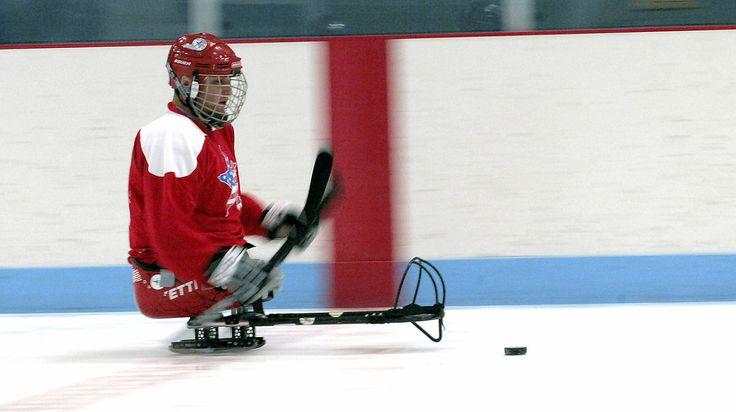 Sledge hockey - Wikipedia