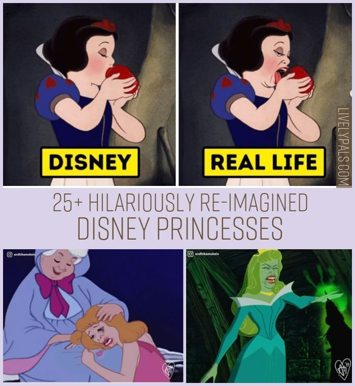disney princesses in real life funny
