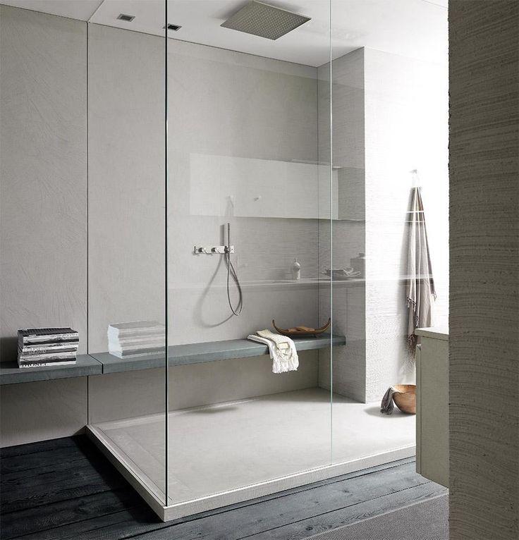 Beautiful simplicity. Let the materials speak for themselves ... 'Twenty' bathroom by Modulnova.