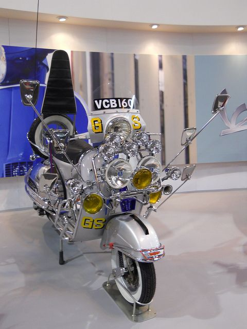 Vespa Ace Face GS 160 by Keith Drummond