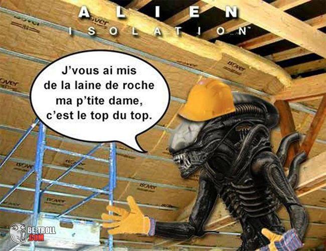 Alien isolation ! - Be-troll - vidéos humour, actualité insolite