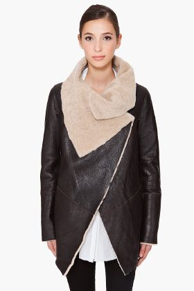 i am clearly obsessed with oversize collars and shearling lately.